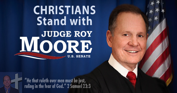 Christians Renounce Mormon Mitt Romney – But Support Christian Roy Moore!