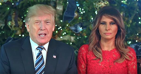 President Trump Melania Bible