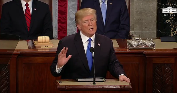 President Trump SOTU Loves America