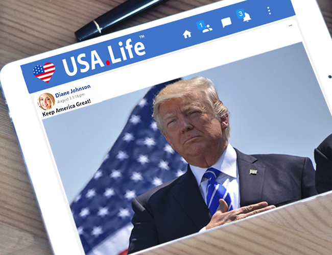 USA.Life Conservative Social Network