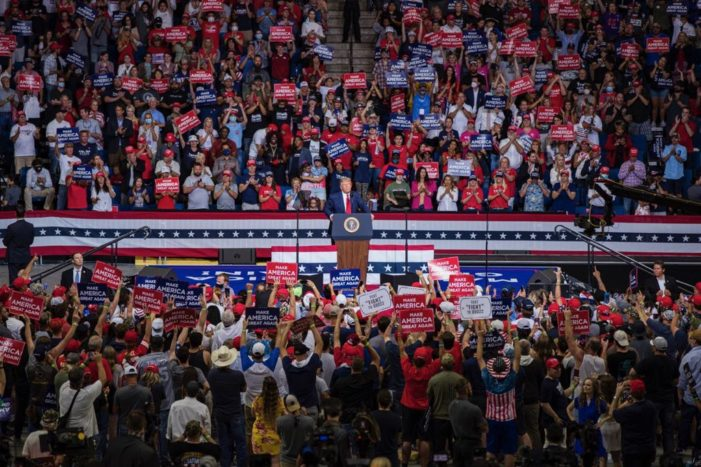 President Trump's Tulsa Oklahoma Rally Successfully Unites America with Hope