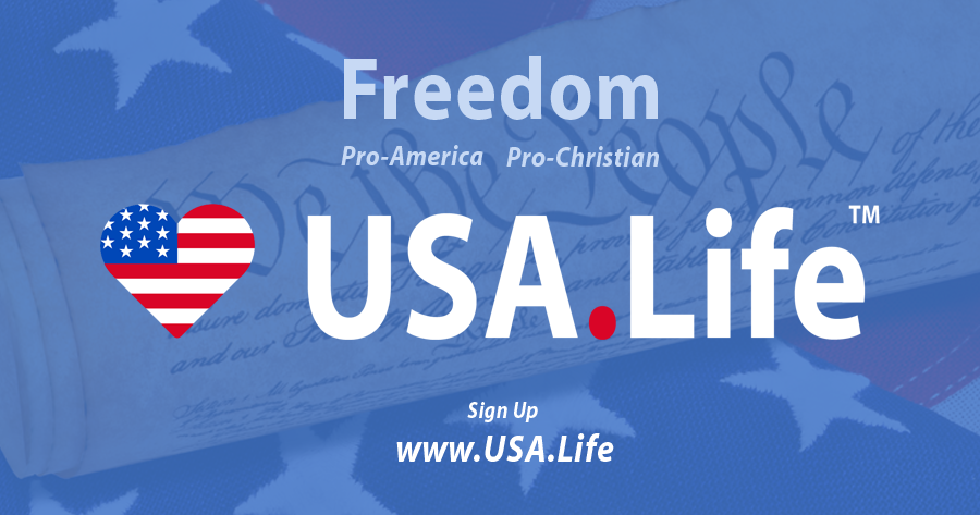 USA.Life is #1 Conservative Facebook Replacement